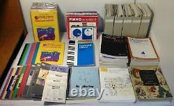 200 + PIANO Keyboard Music Theory Book Lot Children's-Advanced Student Teacher