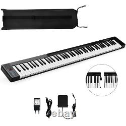 2 in 1 Attachable Digital Piano Keyboard 88/44 Touch sensitive Music Key With MIDI