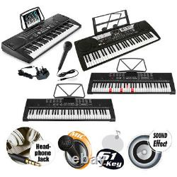 61 Key Digital Keyboard Piano Set With Music Chair And Keyboard Stand