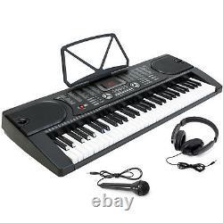 61 Key Digital Piano Music Keyboard Electronic Keyboard Stand Stool Headphone