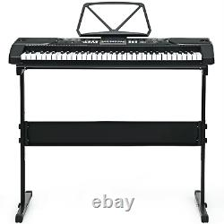 61-Key Electronic Keyboard Piano Starter musical Set With Stand Bench Headphones