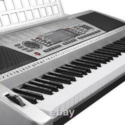 61 Key Music Digital Keyboard Electric Piano LCD Organ Talent Practice Show Gift