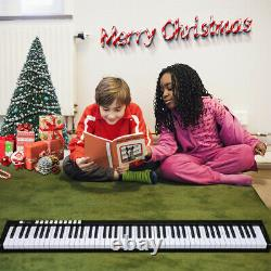 88Key Bluetooth Electronic Piano Keyboard Digital Music Instrument with Bag Gift
