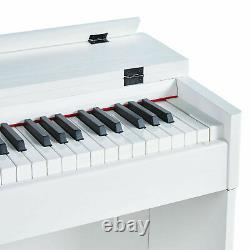 88 Key Electric Music Keyboard Piano WithStand Adapter 3 Pedal Board Digital LCD