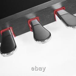 88 Key Electric Piano Keyboard Music Beginner With3 Pedal Board Black Headphone