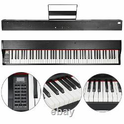 88 Key Electronic Keyboard Music Electric Digital Piano with Speakers