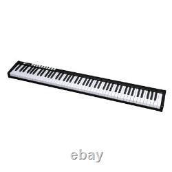 88 Key Music Electronic Keyboard for Beginners Electric Piano Organs withBag Black
