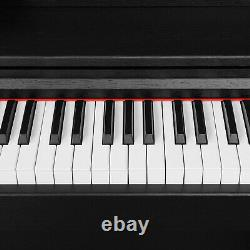 88 Key Music Keyboard WithStand+Adapter+3-Peda Electric Digital LCD Piano Board