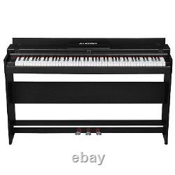 88 Key Piano Music Electric Digital LCD Keyboard WithStand+Adapter+3-Pedal Board