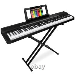 88-Key Piano Set Digital Full Size Stand Pedal Keyboard Music Organ Harpsichord