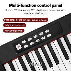88 Keys Digital Music Electronic Keyboard Kids Multifunctional Electric Piano