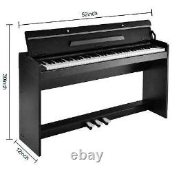 88 weighted Keys Digital Music Piano Keyboard US Electronic Instrument