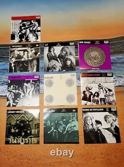 89-90 Sub Pop Single 45's Collection (10) Excellent Condition. See Pics 4 Artist