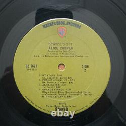 Alice Cooper School's Out BS 2623 Vinyl 1972 LP WithPink Panties-No Titles EX