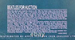 BEATLES FOR AUCTION 1LP SAPCOR Rec-Not TMOQ-Used- Cover VG+ Vinyl EX/NM-