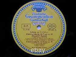 BEETHOVEN THE 32 PIANO SONATAS WILHELM KEMPF 11 LP German Tulip Rim NM