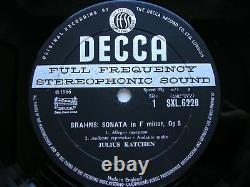 BRAHMS COMPLETE SOLO PIANO MUSIC JULIUS KATCHEN 8 LP WBg NM