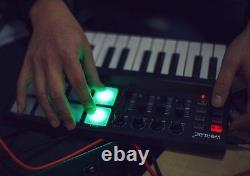 Beat & Music Maker DJ Piano USB MIDI Color Drum Pad & Keyboard Controller 25 Key