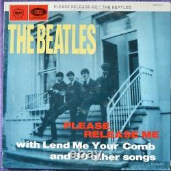 Beatles Please Release Me 2LP SAPCOR Rec -Not TMOQ- Used Cover VG+ Vinyl EX/NM-
