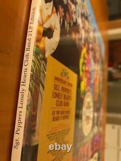 Beatles Sgt Pepper 50th Anniversary Vinyl Album 2 Lp Record Set 33 Sealed New