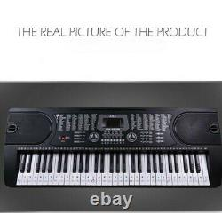 Beginner Music Keyboard Piano Stickers 88/61/54/49Keys Set (COLORED)