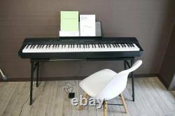 CASIO Privia Digital Piano keyboard 88Key black withMusic stand manual