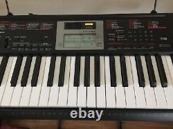 Casio CTK-2090 Keyboard Piano Original Box & Stand, Manual, Music Book MIDI USB