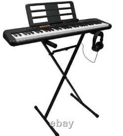 Casio Musical Keyboard Piano 61 Keys Portable Electronic Digital Beginner Stand