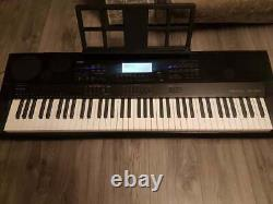 Casio WK7500 Workstation High Grade Keyboard Piano Includes Music Rest 76 key