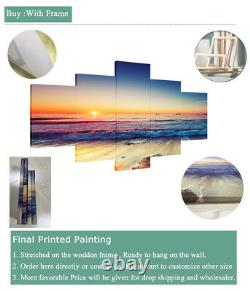 Classic Piano Keyboard Music Instrument 5 pieces Canvas Wall Poster Home Decor