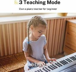 Donner Electronic Keyboard Piano 61 Keys Digital Pianos with Sheet Music Stand
