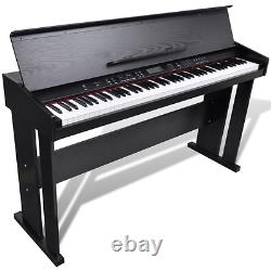Electric Piano Musical Keyboard Recording Memory LED Function Music Instrument