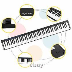 Electronic Keyboard 88 Key Portable Digital Music Piano Beginner Kid Gift