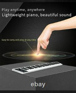 Electronic Keyboard Portable 61-key Piano Musical Instrument Rechargeable Device