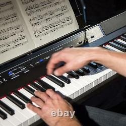 Electronic Keyboards Musical Pianos Recital 88 Full-Size Semi-Weighted Keys