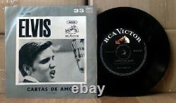 Elvis ARGENTINA Cartas De Amor 1966 DIFFERENT Compact 33 rpm PS single EX! Rock