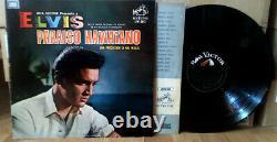 Elvis ARGENTINA Paraíso Hawaiano 1966 PROMO LP RocknRoll RARE PRESS Paradise