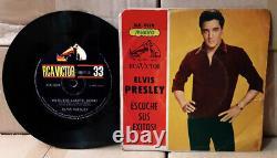 Elvis ARGENTINA Preguntame 1965 PS COMPACT 33 RPM Rock'n'Roll NO ES ESO AMARTE