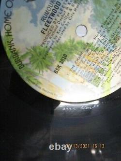 FLEETWOOD MAC Rumours LP Used 1977 Warner Bros 1ST PRESS SIGNED BY ALL 5 MEMBERS