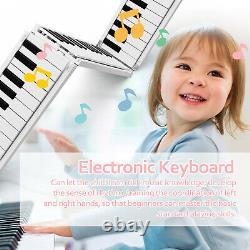 Foldable Piano Digital Piano Portable Electronic Keyboard Kit Musical Instrument