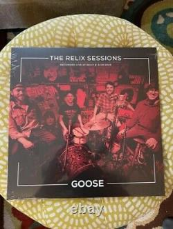 Goose The Relix Sessions Vinyl RARE SEALED OOP LIMITED EDITION ONLY 500 MADE
