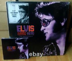Great Offer! 3-LP SET + 3-CD SET ELVIS SUMMER FESTIVAL 1970 THE REHEARSALS SS