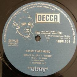 HDN 100-115 Haydn Complete Piano Sonatas / John McCabe 15 LPs 5 Box sets