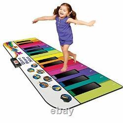 Kidzlane Floor Piano Mat Jumbo 6 Foot Musical Keyboard Playmat for Toddlers and