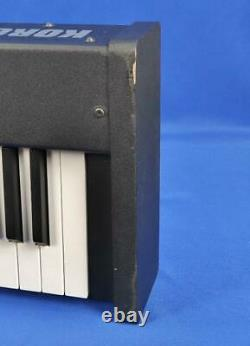 Korg D1 Digital Piano 88 Weighted Key Keyboard with Box Sheet Music Mount & Pedal