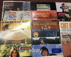 Lot 40 Country Vinyl Lp Hank Sr/davis/owens/elvis/pride/atkins/willie/haggard