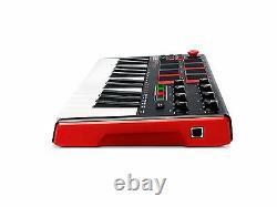MIDI Controller Keyboard 25 Key USB Professional Piano Music Portable Instrument