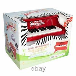 My First Piano II 25 Keys Mini Keyboard Piano Toddler Musical Red