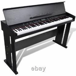New Classic Electronic Digital Piano with 88 Keys & Music Stand Keyboard
