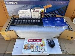New Yamaha EZ-250i PortaTone Keyboard Piano BRAND NEW IN BOX W HOLDER N BOOKLETS
